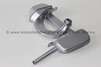 Marmitta modello moto Guzzi Galletto 192 avviamento elettrico