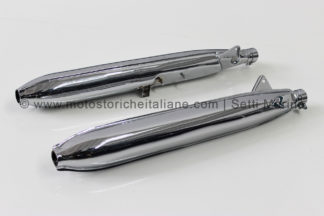 Marmitta modello moto Honda 450 bicilindrica K0