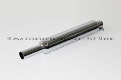 Marmitta modello moto Mondial 125 Parallelogramma